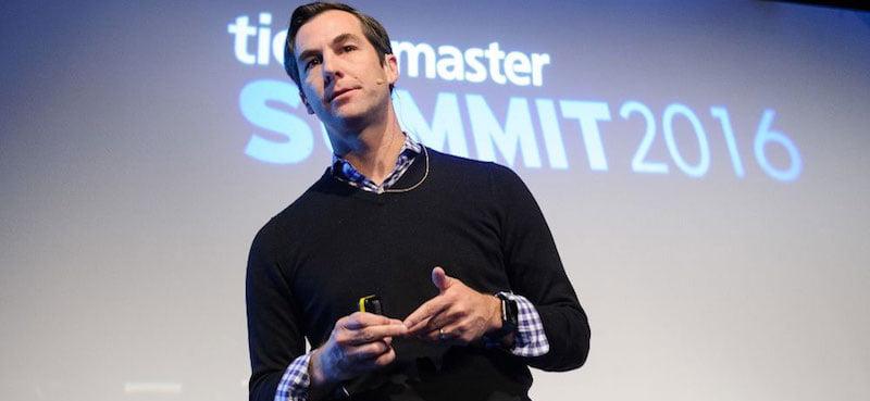 Jared Smith, Ticketmaster