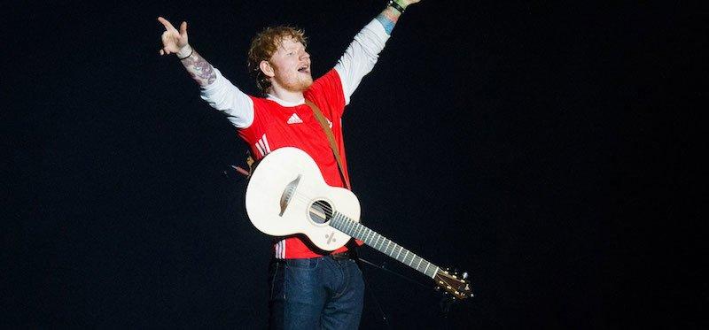 Ed Sheeran played four nights at Cardiff's Principality Stadium in June