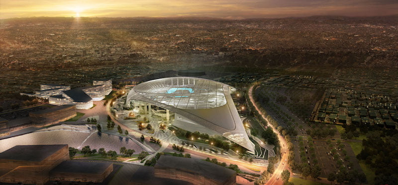 LA Stadium & Entertainment District at Hollywood Park (LASED)