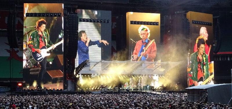Rolling Stones, Millennium Stadium, Cardiff, No Filter tour