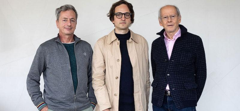 Emmanuel de Buretel, Julien Catala (Super!) and Corida president Assaad Debs