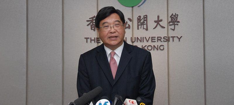 Consumer Council chairman Wong Yuk-shan is also president of Open University of Hong Kong
