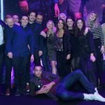 The Broadwick Live team collect their best promoter award, UK Festival Awards 2018