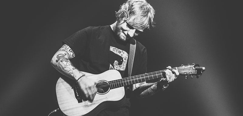 Ed Sheeran's ÷ tour became the first to gross $400m in a single year
