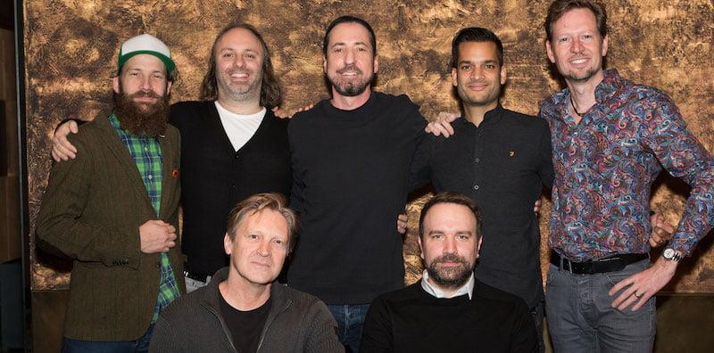 The Mainland team with Live Nation GSA's Matt Schwarz (front right)