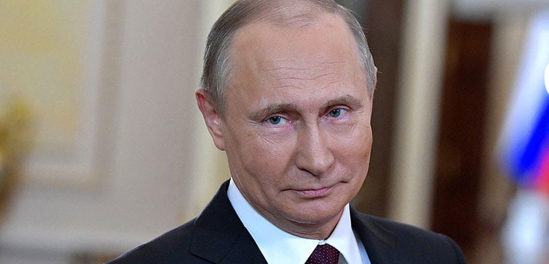 """Drugs are """"a path to the degradation of the nation"""", says Vladimir Putin"""