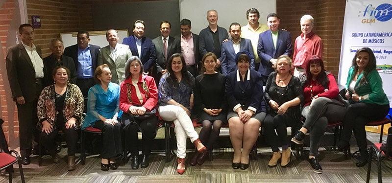 FIM workshop delegates in Bogota