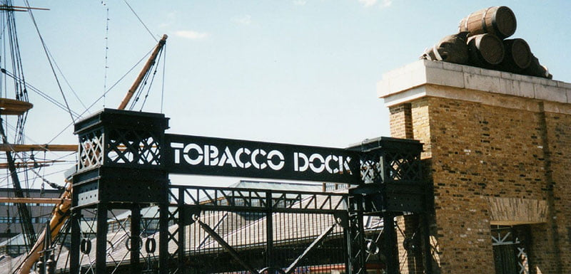 London event space Tobacco Dock partners with Norway's TicketCo