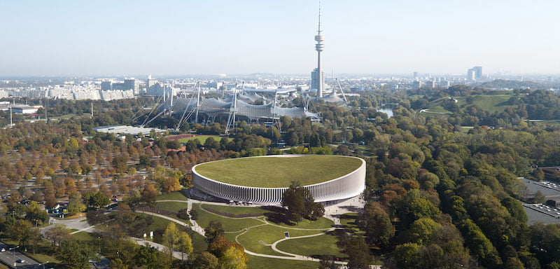 New Munich arena, Olympiapark