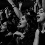Skiddle data, women buy more tickets