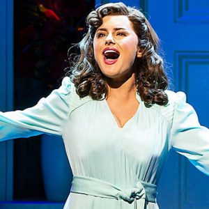 Amber Davies in 9 to 5: The Musical