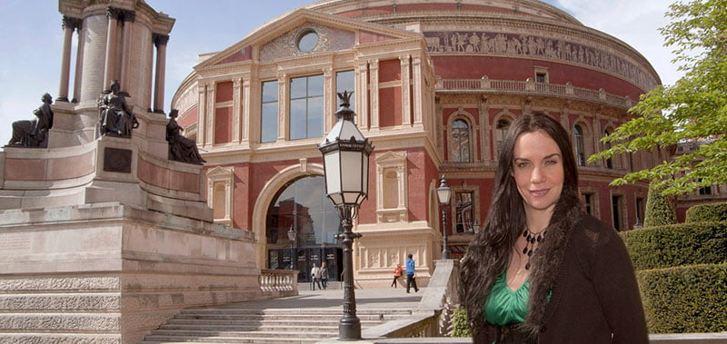 Lucy Noble, Royal Albert Hall