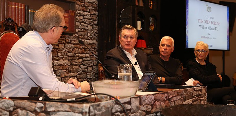 Bowdery, Leiweke, Giddings and Vlasic at the Open Forum