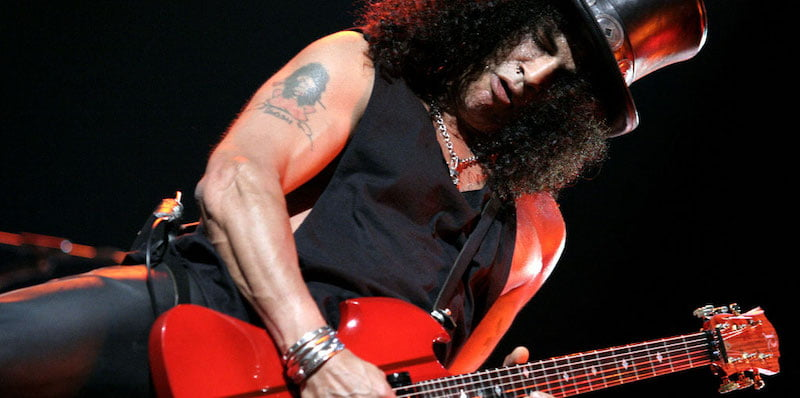 Slash is among the artists targeted by scammers