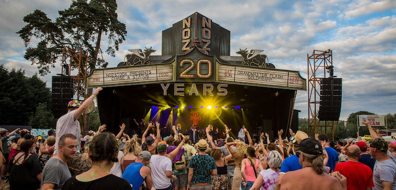 Nozstock celebrated its 20th anniversary in 2018