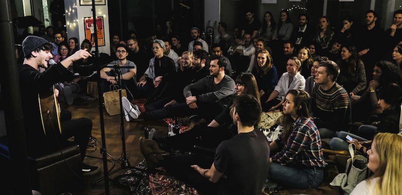UTA's London office hosted a Sofar show in January