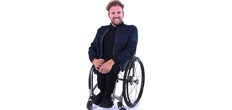 Get Skilled Access founder and Paralympic gold medallist Dylan Alcott