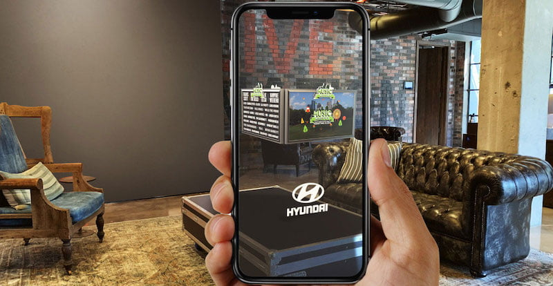 Hyundai is the first brand to use LN's AR products