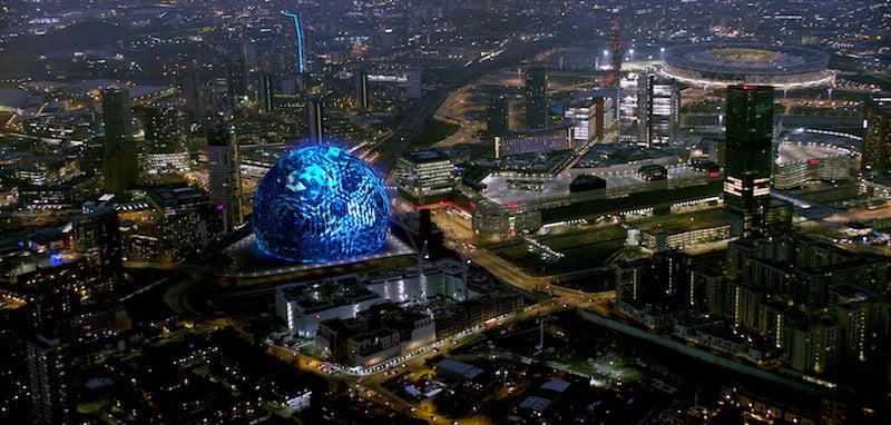 AEG MSG Sphere clashes