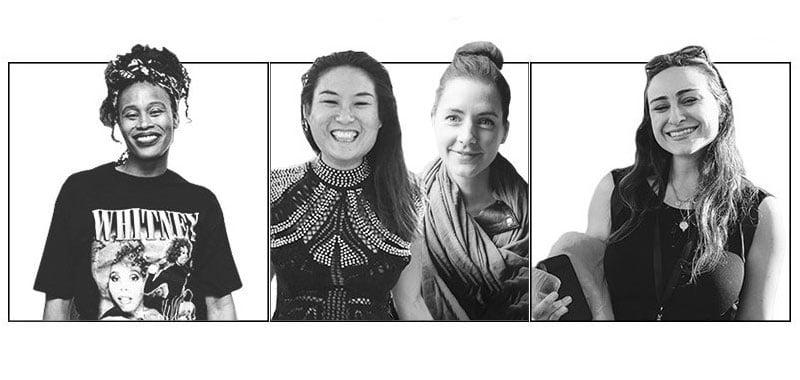 Tina Farris, Mel Nahas and Kiki Falconer, Isabella Kelly, Women Nation Fund