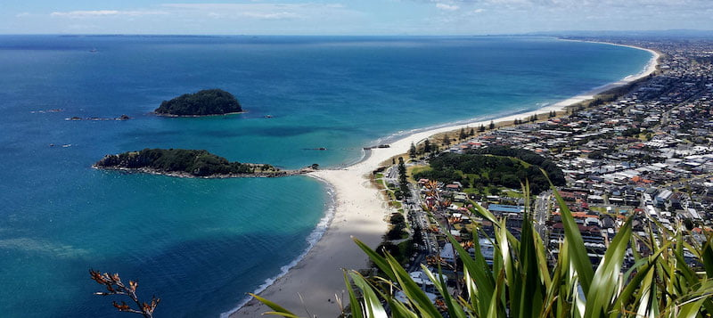 Mt Maunganui is one of New Zealand's most popular beach towns