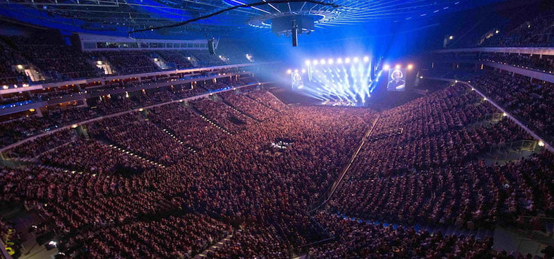 O2 Arena Prague is a member of the EAA