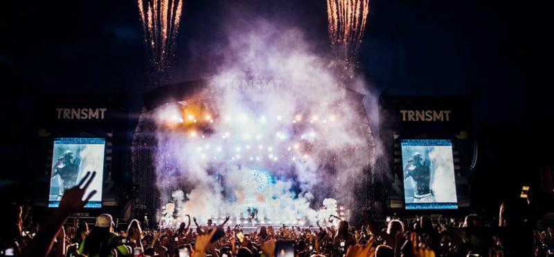 Stormzy performs at Trnsmt 2019
