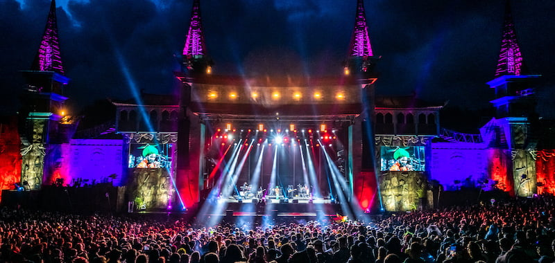 Boomtown braves storm for sold-out festival
