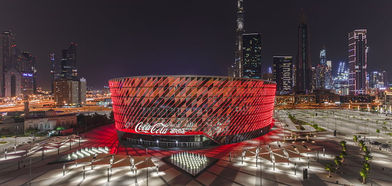 "Dubai ""go-to"" destinatiohn with Coca-Cola Arena success"
