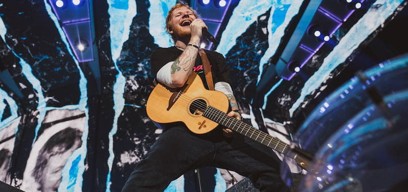 Ed Sheeran's ÷ became the highest-ever-grossing concert tour in August (Outlook 2019)