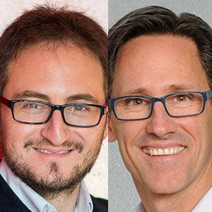 Shain Shapiro and Tom Huston