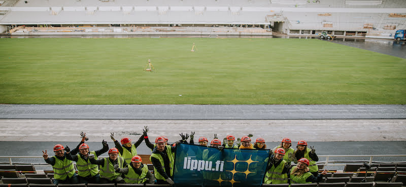 Lippupiste partners with Helsinki Olympic Stadium