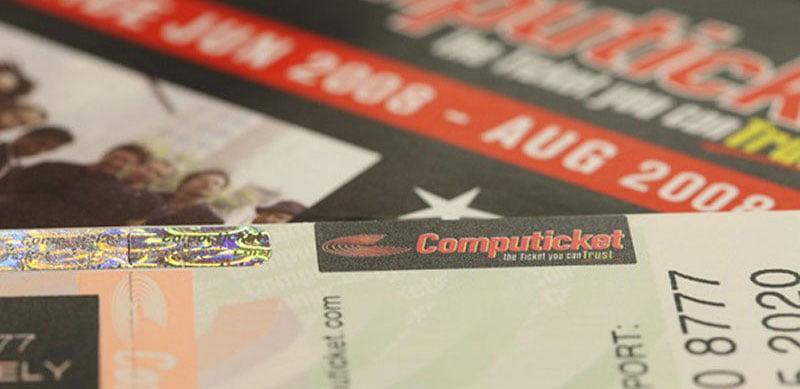 Computicket tickets