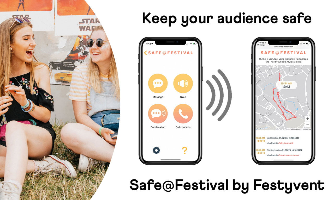 SAFE@FESTIVAL by Festyvent