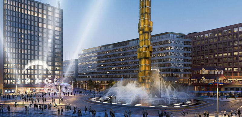 Space Stockholm will be located in Sergels Torg