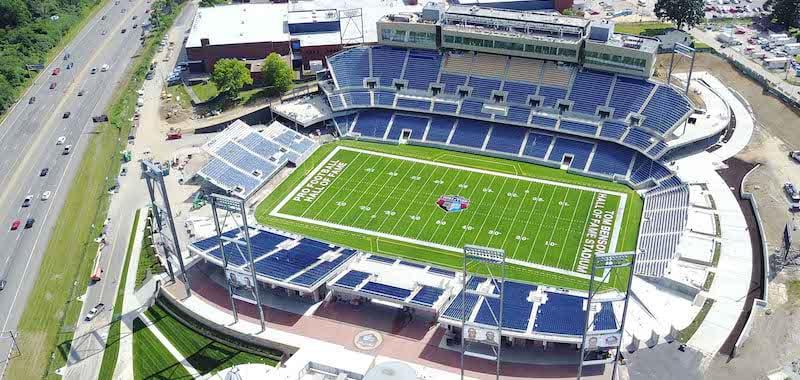 ASM Global to manage Tom Benson Hall of Fame Stadium