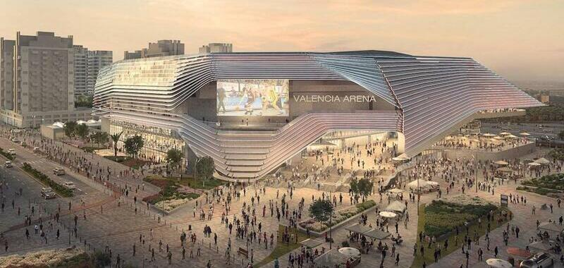 Valencia Arena to be largest in Spain