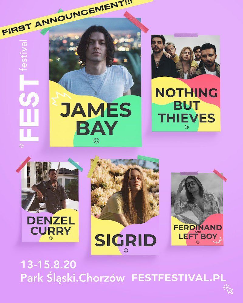 Fest Festival 2020 line-up