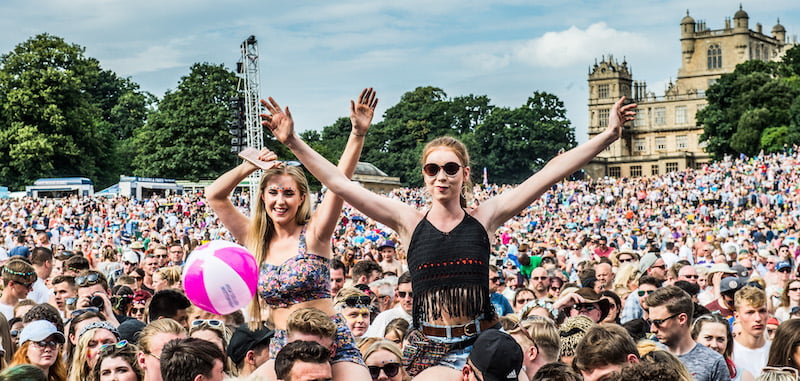 Gigantic survey: weekend camping festivals remain on top