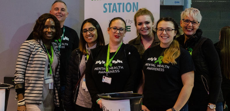The mental health first aiders at Resorts World Arena