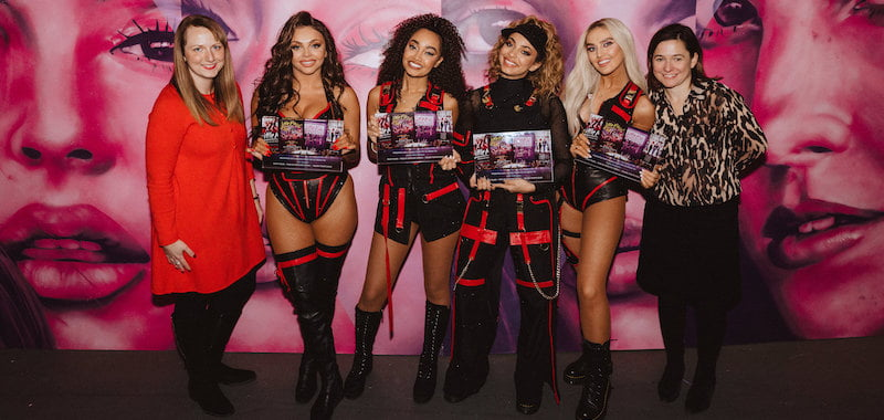 Little Mix awarded for 12 shows at the O2