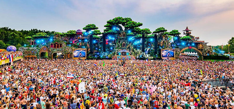 Brilliant's stage for Tomorrowland 2016 in Boom, Belgium