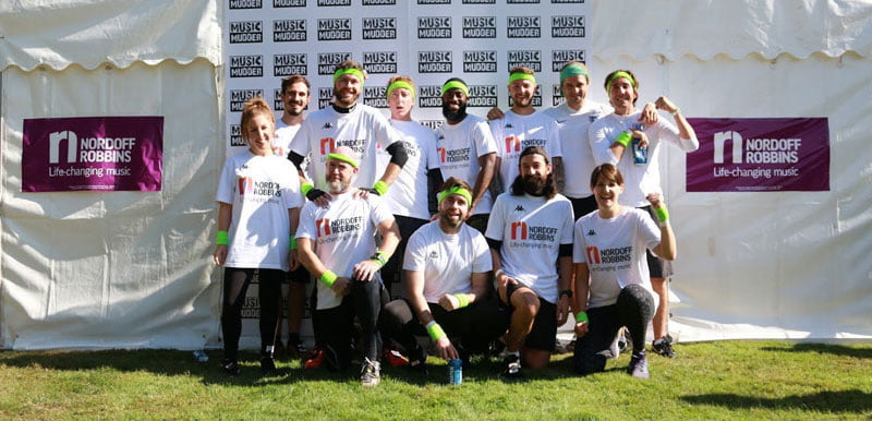 Team Paradigm before Music Mudder 2019