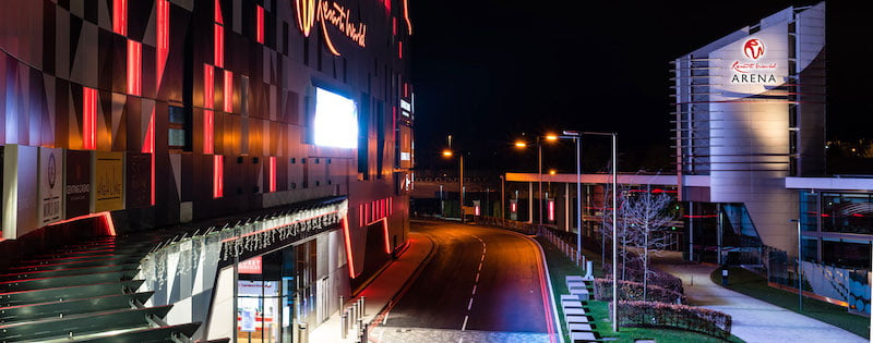 NEC Group's holdings include Birmingham's Resorts World Arena