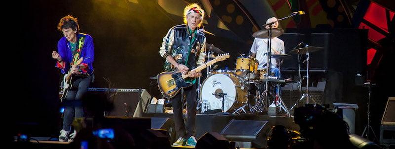 The Rolling Stones perform in Havana, Cuba