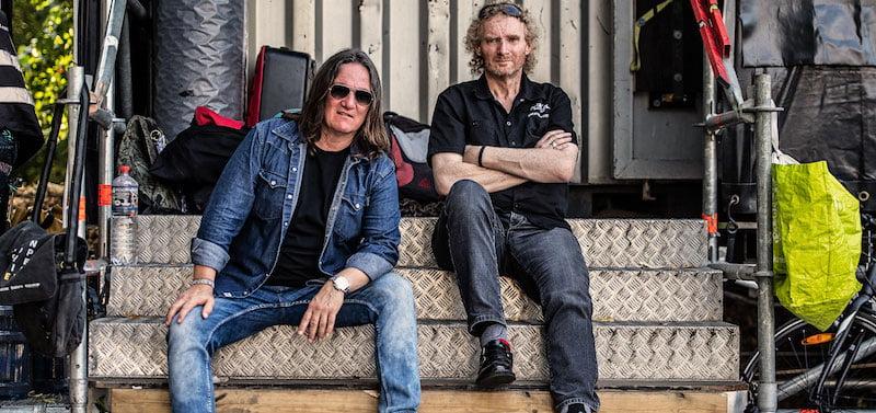 Wacken Open Air founders Thomas Jensen (left) and Holger Hübner