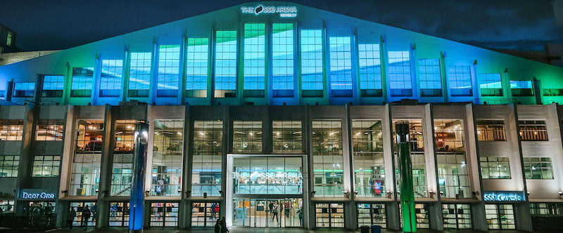 Wembley Arena became the SSE Arena, Wembley, in 2014
