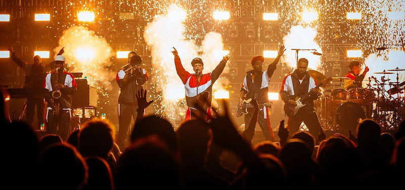 Bruno Mars performed at last year's Super Bowl Music Fest, produced by On Location Experiences