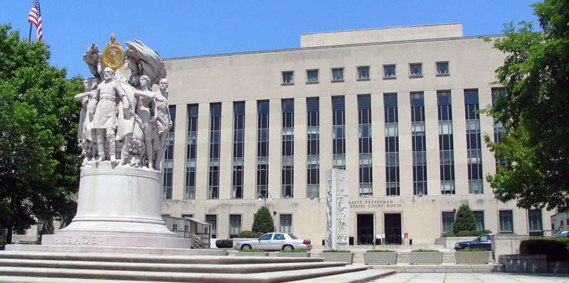 The US district court for Columbia
