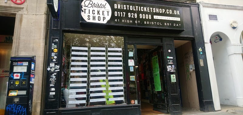 Bristol Ticket Shop closes after 30 years